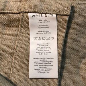 West Elm Accents - West Elm LINEN-COTTON Grommet Window Panel $69 new